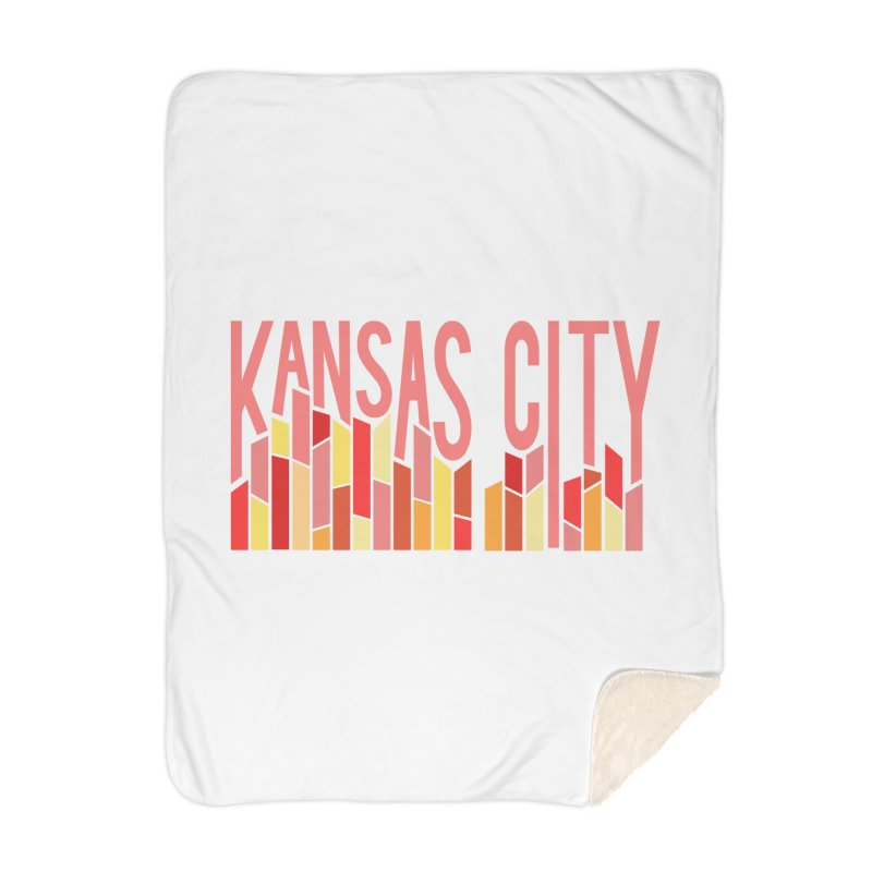 KC Fire Home Blanket by The Pitch Kansas City Gear Shop