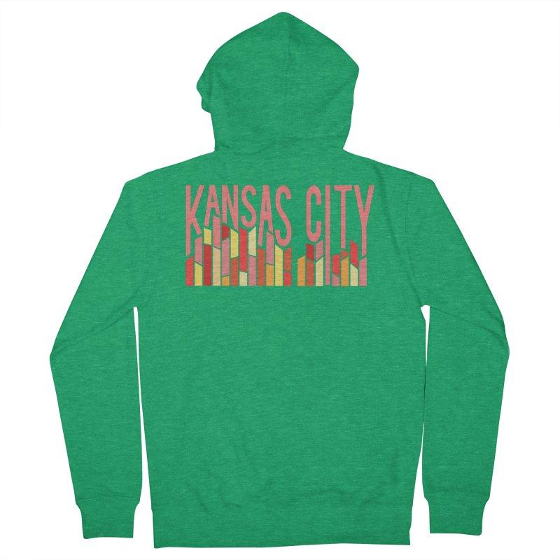 KC Fire Men's Zip-Up Hoody by The Pitch Kansas City Gear Shop
