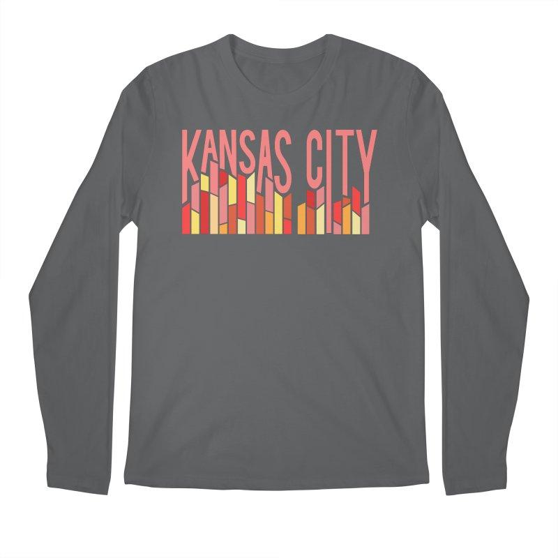 KC Fire Men's Longsleeve T-Shirt by The Pitch Kansas City Gear Shop