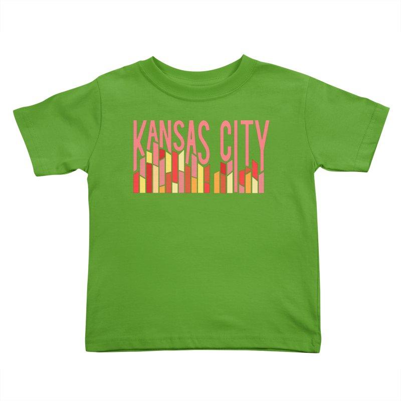 KC Fire Kids Toddler T-Shirt by The Pitch Kansas City Gear Shop