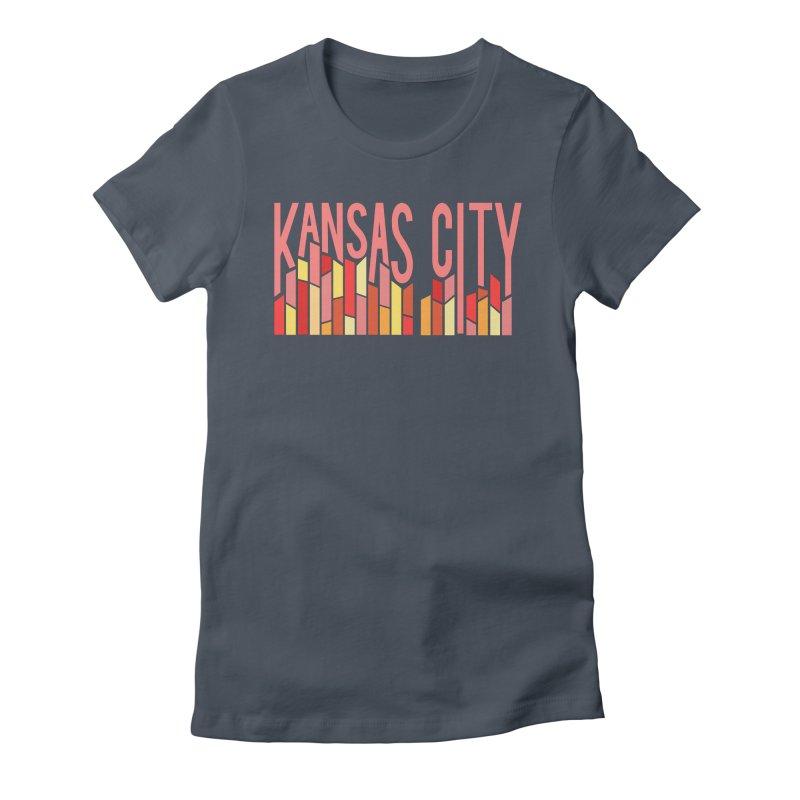 KC Fire Women's T-Shirt by The Pitch Kansas City Gear Shop