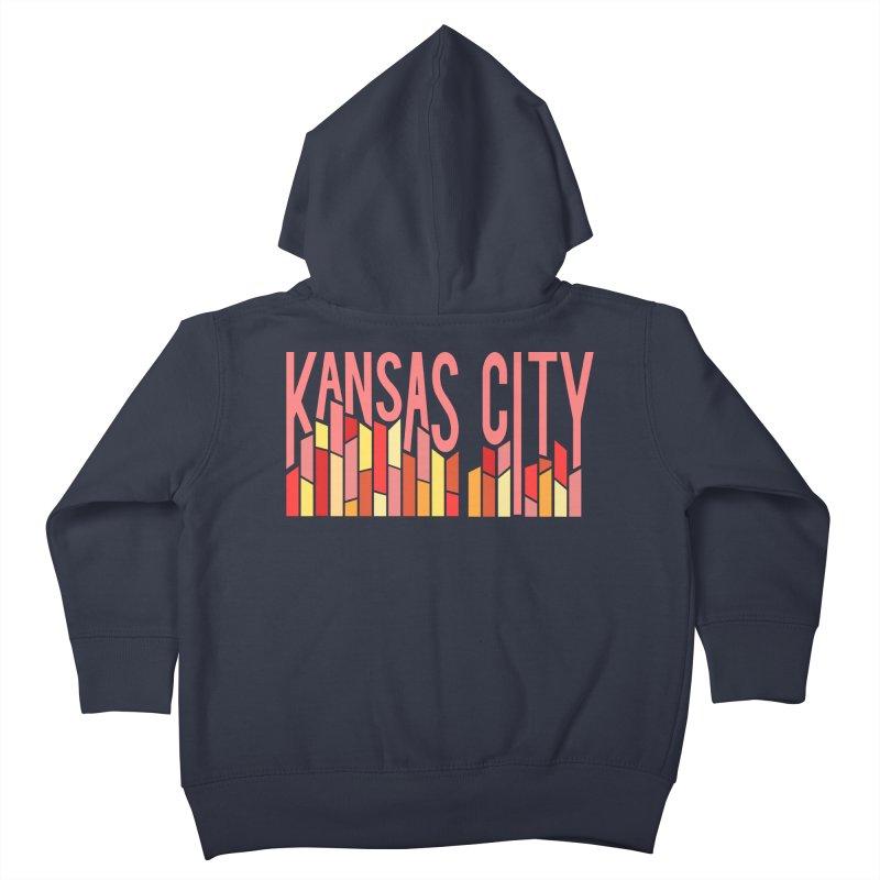 KC Fire Kids Toddler Zip-Up Hoody by The Pitch Kansas City Gear Shop