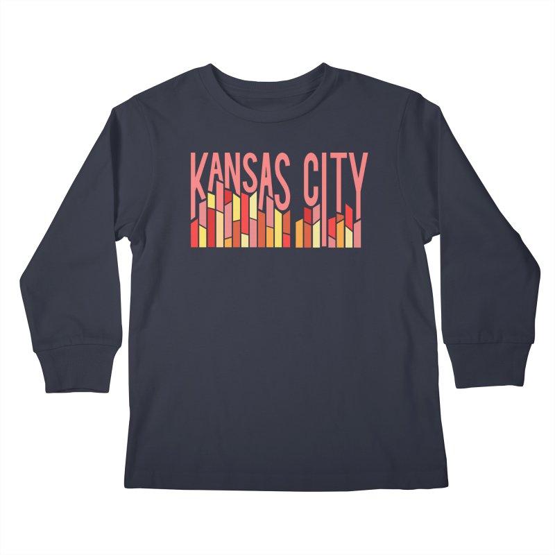KC Fire Kids Longsleeve T-Shirt by The Pitch Kansas City Gear Shop
