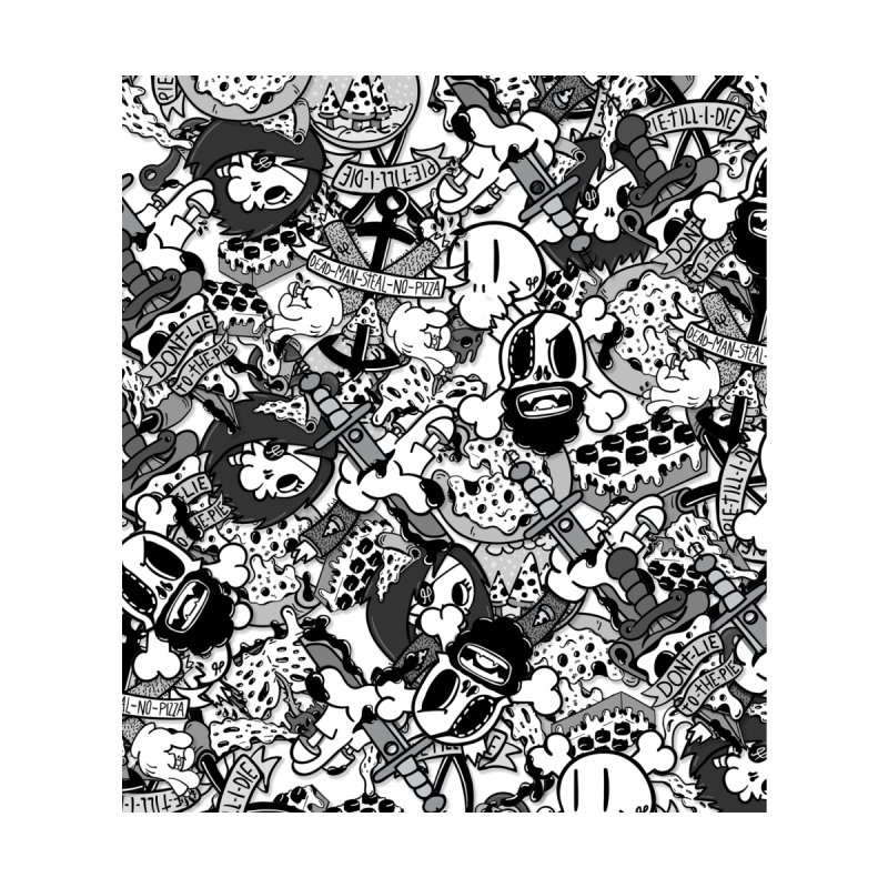 Sticker Mix 2019 Home Rug by Pizza Pirate Tavern