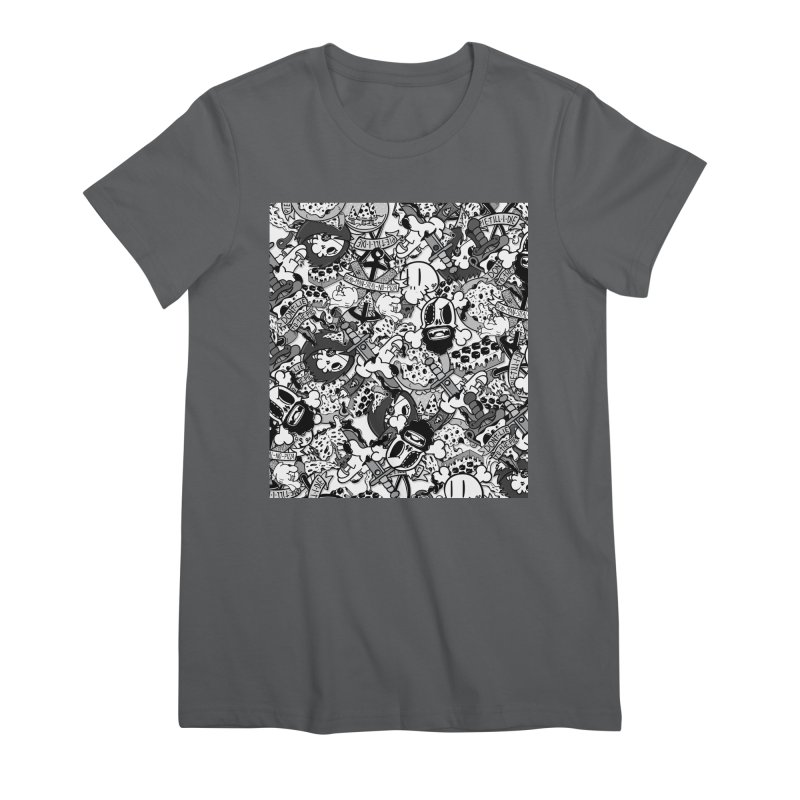 Sticker Mix 2019 Women's T-Shirt by Pizza Pirate Tavern