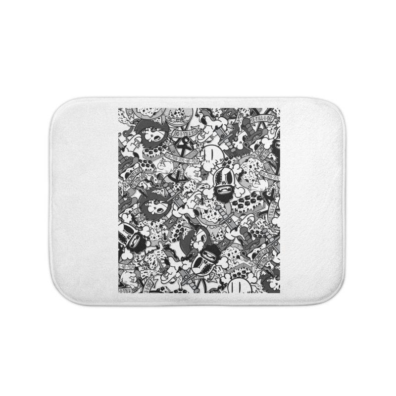 Sticker Mix 2019 Home Bath Mat by Pizza Pirate Tavern