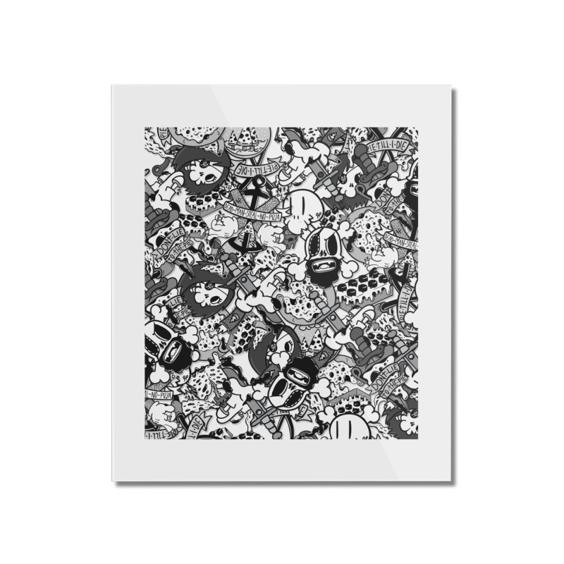 Sticker Mix 2019 Home Mounted Acrylic Print by Pizza Pirate Tavern