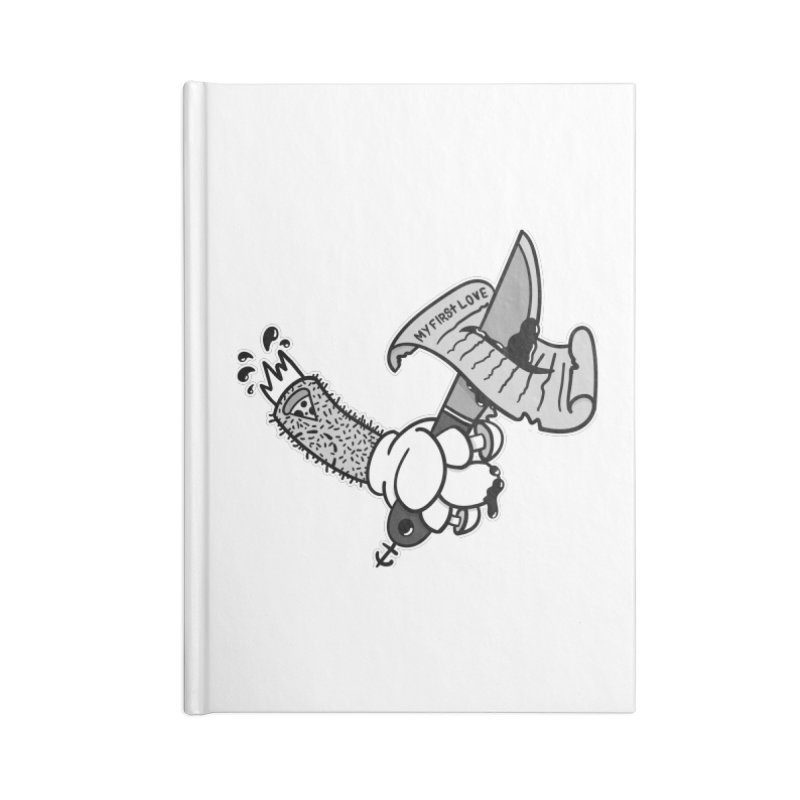 My First Love Accessories Notebook by Pizza Pirate Tavern