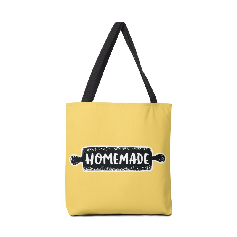 HOMEMADE Accessories Bag by theplatformgroup's Artist Shop