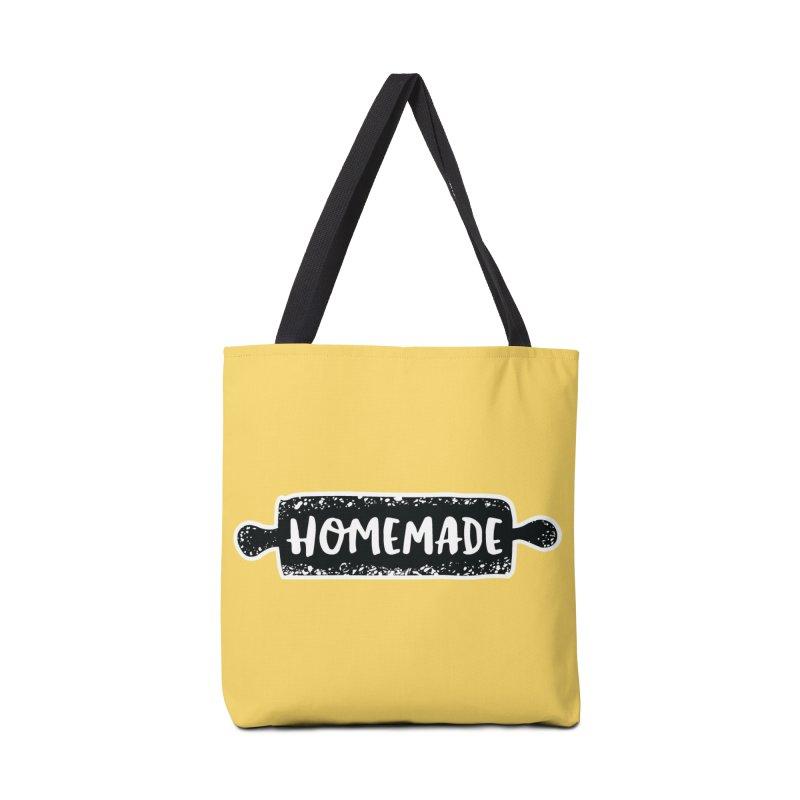 HOMEMADE Accessories Bag by theplatformgroup's Artist Shop