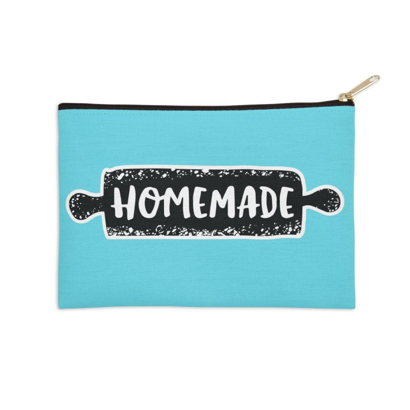 HOMEMADE Accessories Zip Pouch by theplatformgroup's Artist Shop