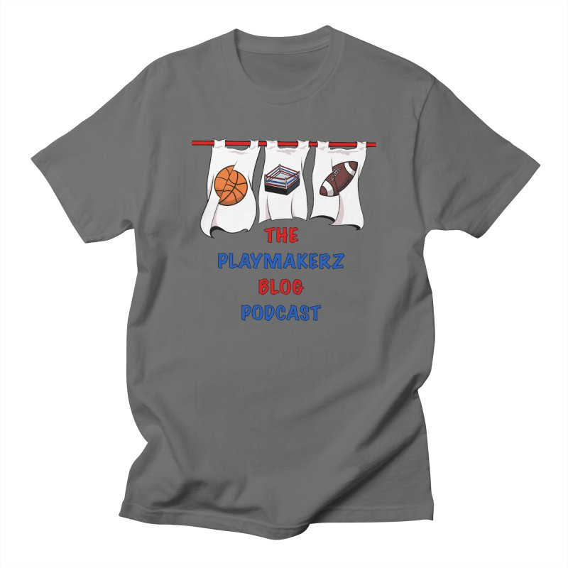 The Playmakerz Main Men's T-Shirt by The Playmakerz Blog's Artist Shop