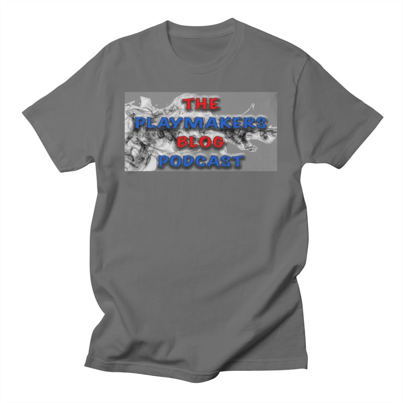 New Podcast Logo Men's T-Shirt by The Playmakerz Blog's Artist Shop