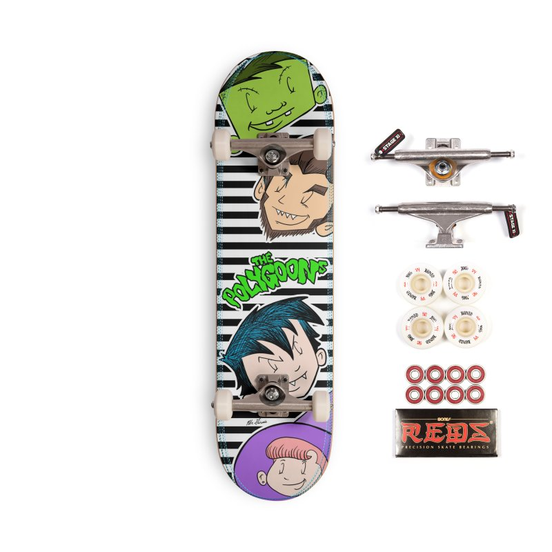 The Polygoons Deck Accessories Complete - Pro Skateboard by The Polygoons' Shop