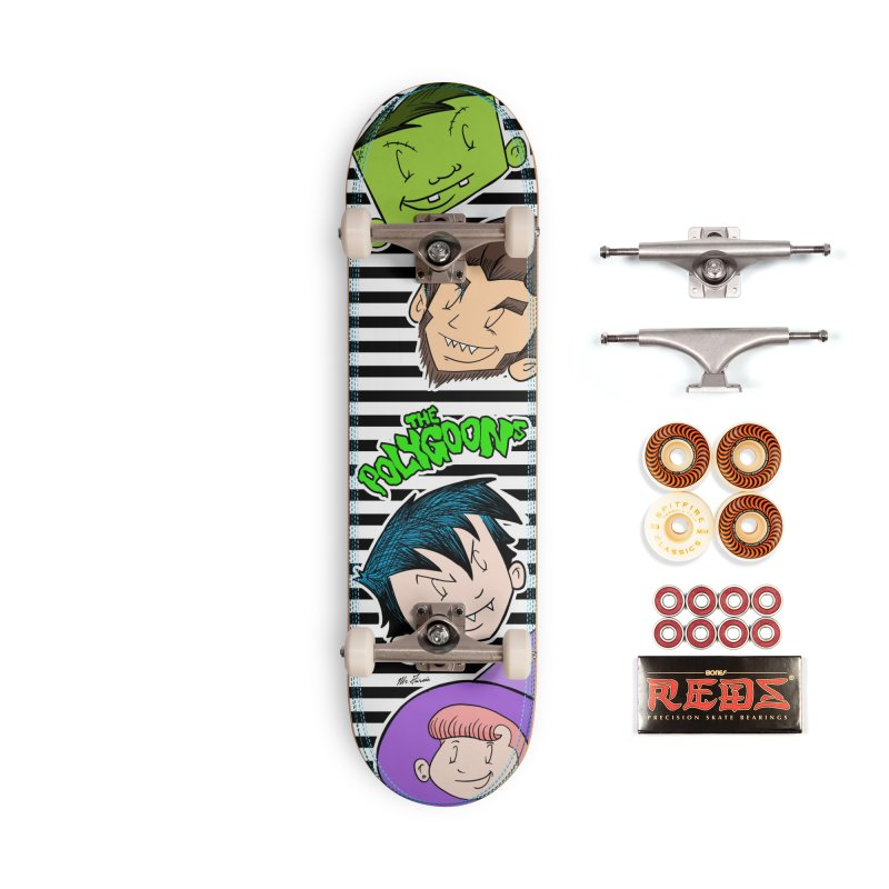 The Polygoons Deck Accessories Skateboard by The Polygoons' Shop