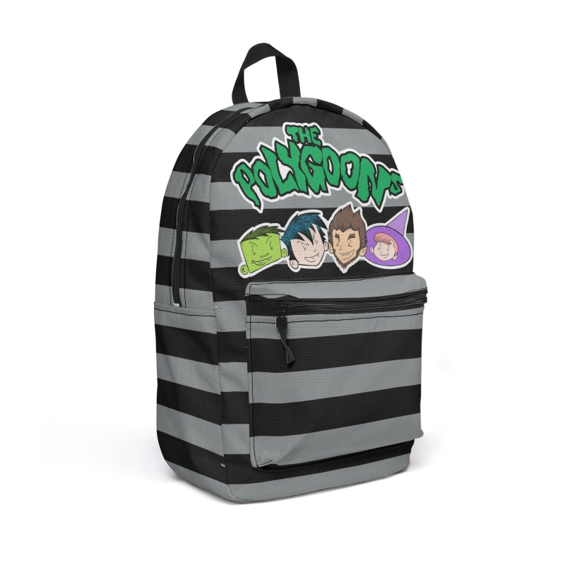 The Polygoons Backpack (Gray) in Backpack by The Polygoons' Shop