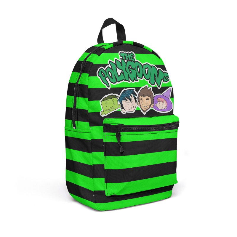 The Polygoons Backpack (Green) Accessories Backpack Bag by The Polygoons' Shop