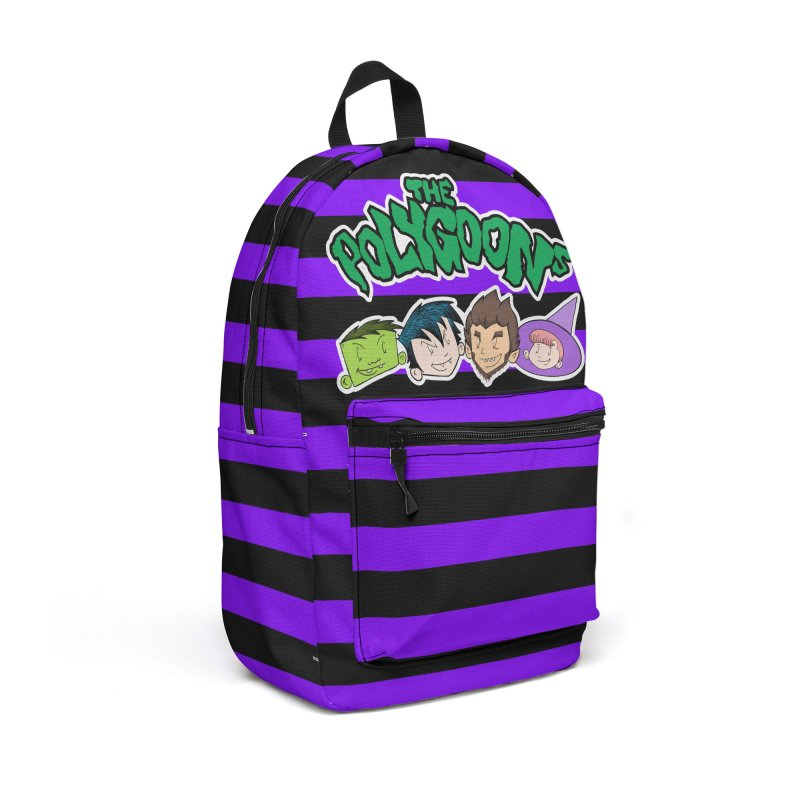 The Polygoona Backpack (Purple) Accessories Backpack Bag by The Polygoons' Shop