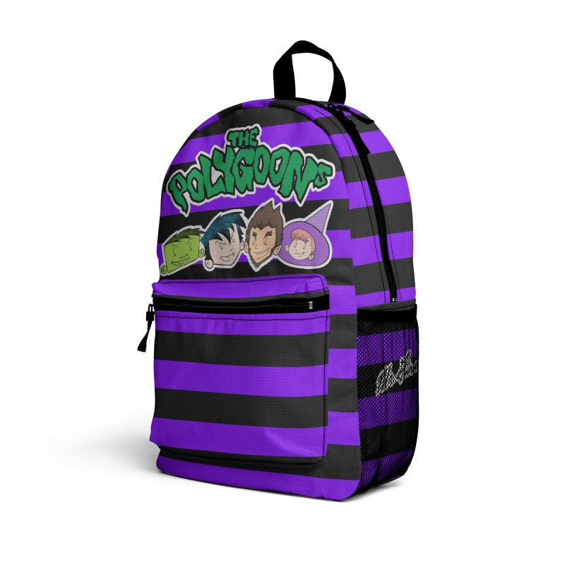 The Polygoona Backpack (Purple) Accessories Bag by The Polygoons' Shop