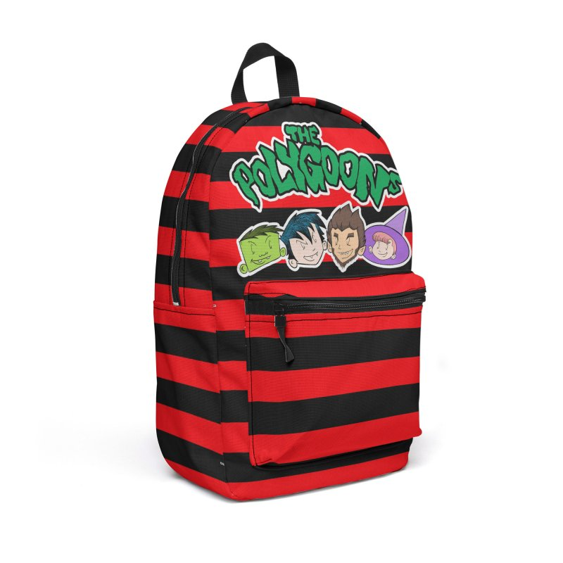 The Polygoons Backpack (Red) in Backpack by The Polygoons' Shop