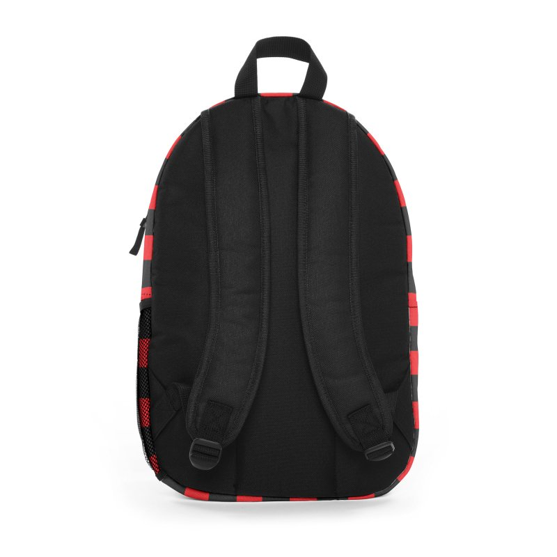 The Polygoons Backpack (Red) Accessories Bag by The Polygoons' Shop