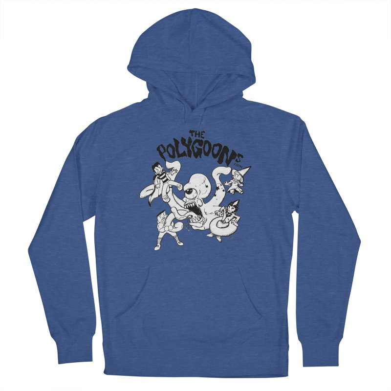Polygoons vs. Mutoid Men's Pullover Hoody by The Polygoons' Shop
