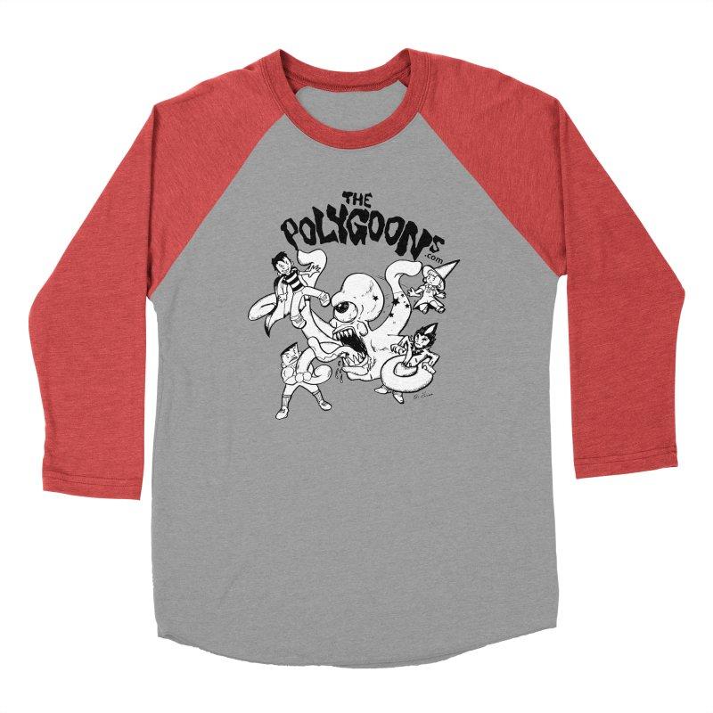 Polygoons vs. Mutoid Men's Longsleeve T-Shirt by The Polygoons' Shop