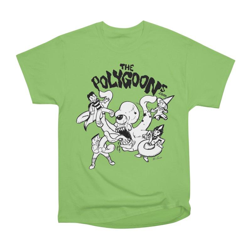 Polygoons vs. Mutoid Men's Heavyweight T-Shirt by The Polygoons' Shop
