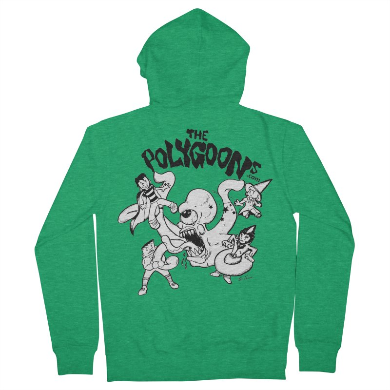Polygoons vs. Mutoid Women's Zip-Up Hoody by The Polygoons' Shop