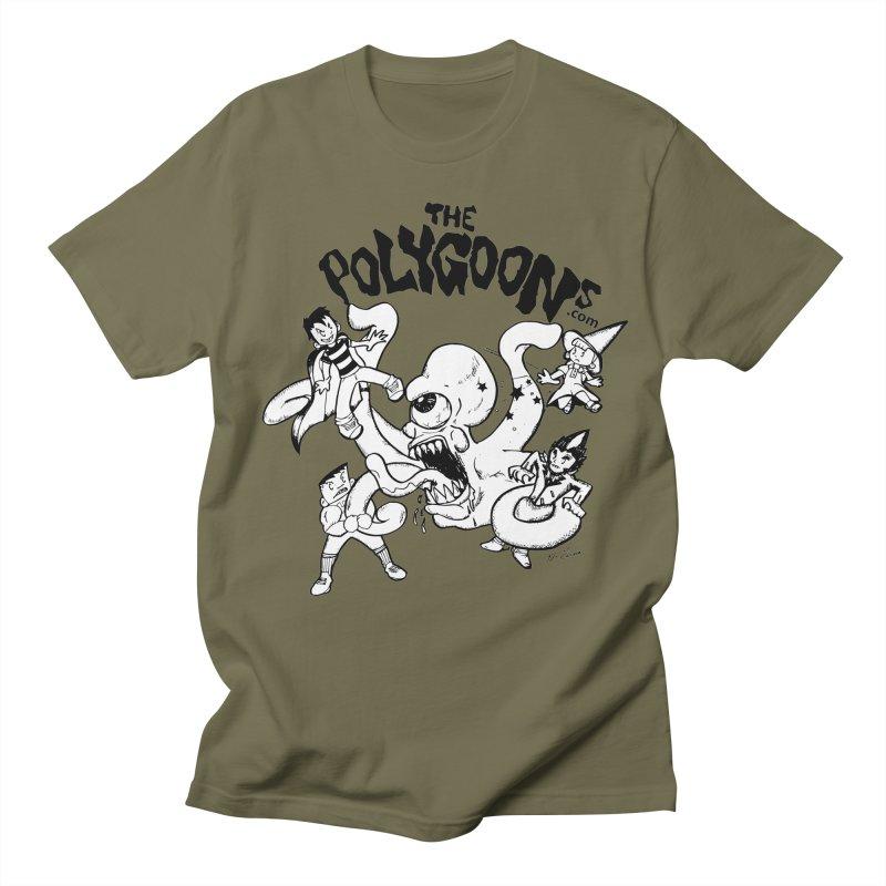 Polygoons vs. Mutoid Men's Regular T-Shirt by The Polygoons' Shop