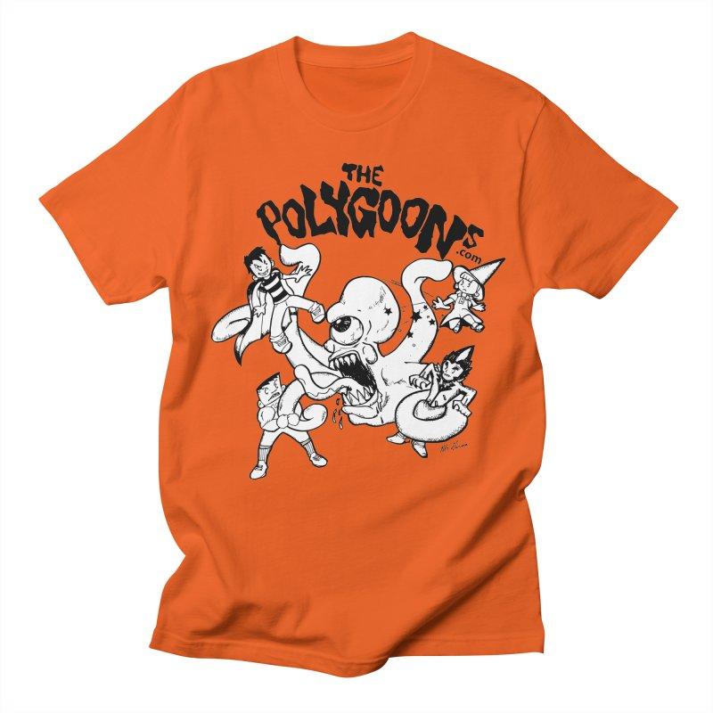 Polygoons vs. Mutoid Women's Regular Unisex T-Shirt by The Polygoons' Shop