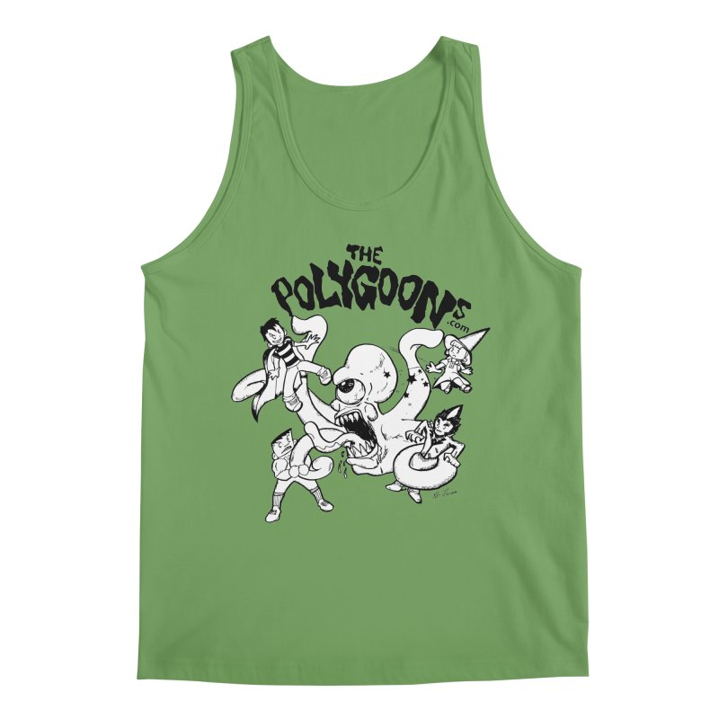 Polygoons vs. Mutoid Men's Tank by The Polygoons' Shop