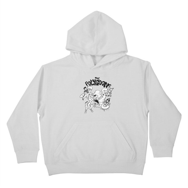 Polygoons vs. Mutoid Kids Pullover Hoody by The Polygoons' Shop