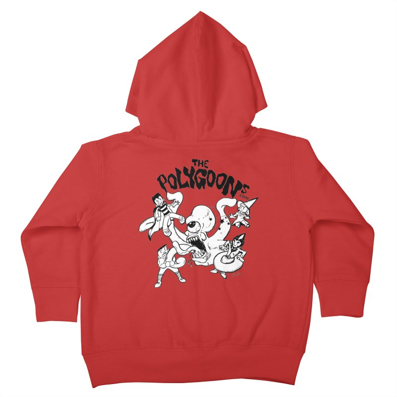 Polygoons vs. Mutoid Kids Toddler Zip-Up Hoody by The Polygoons' Shop