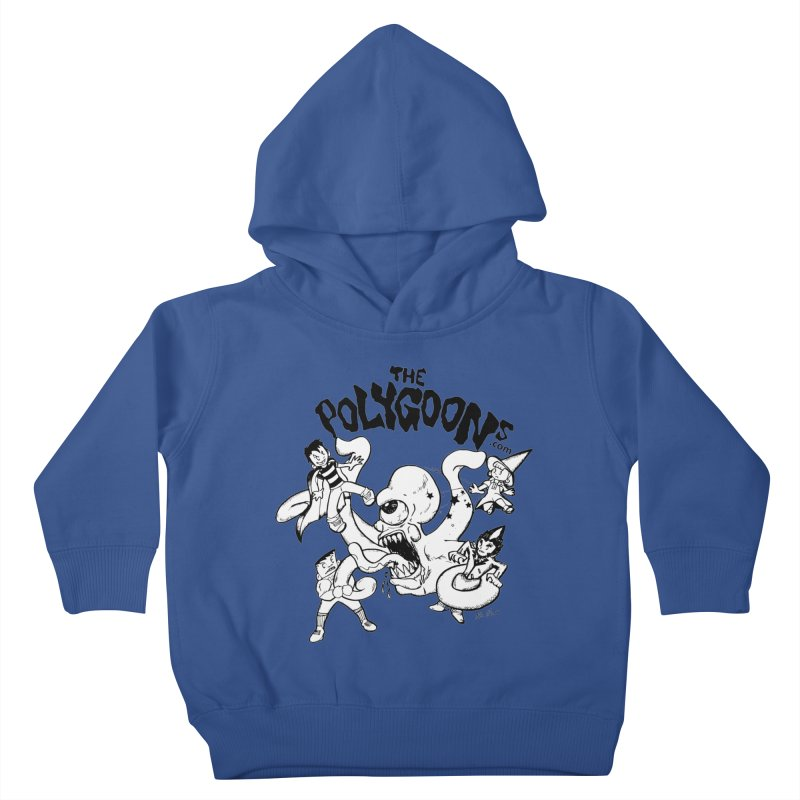 Polygoons vs. Mutoid Kids Toddler Pullover Hoody by The Polygoons' Shop
