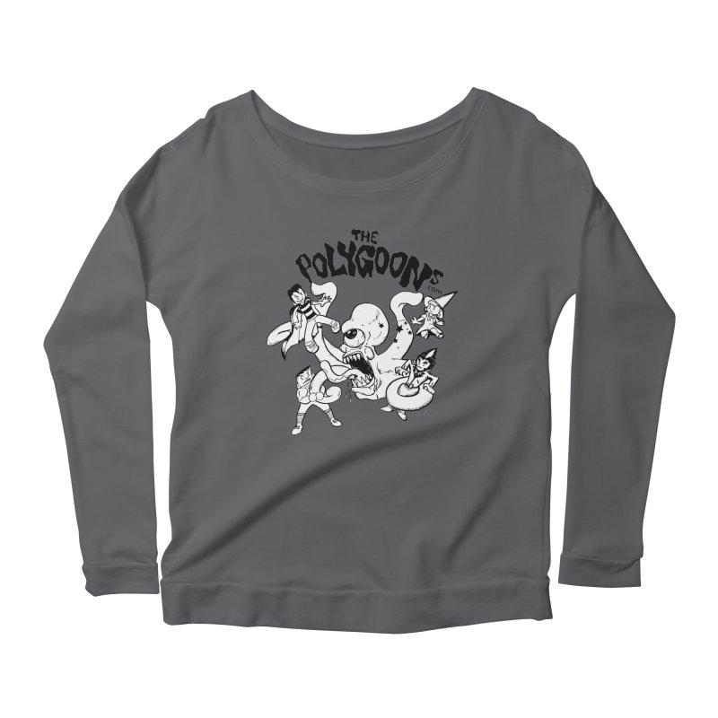 Polygoons vs. Mutoid Women's Longsleeve T-Shirt by The Polygoons' Shop