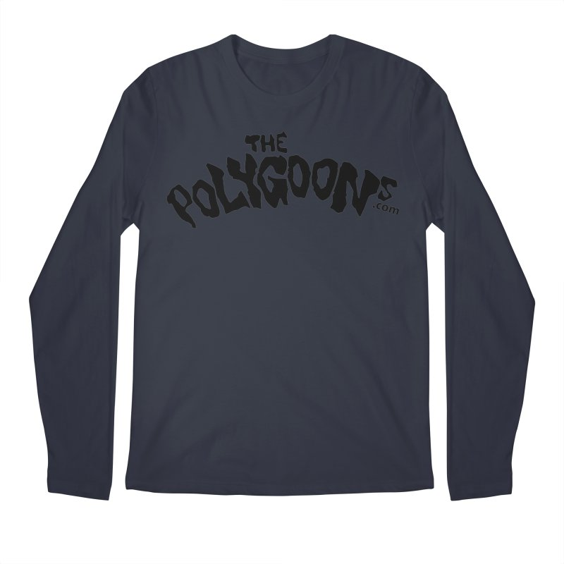 The Polygoons Logo Men's Regular Longsleeve T-Shirt by The Polygoons' Shop