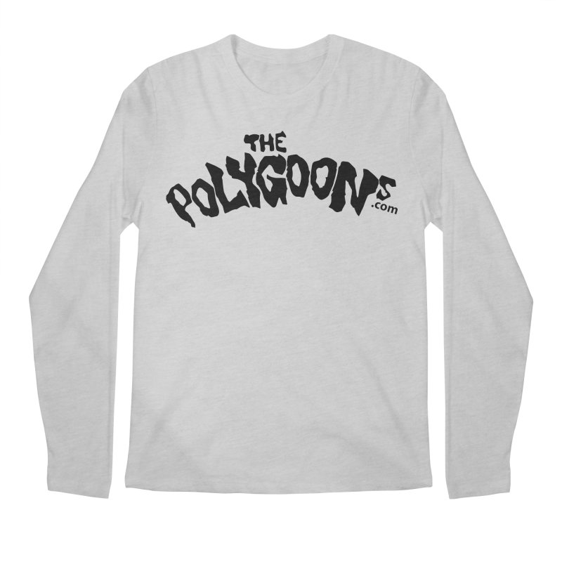The Polygoons Logo Men's Regular Longsleeve T-Shirt by The Polygoons' Shop