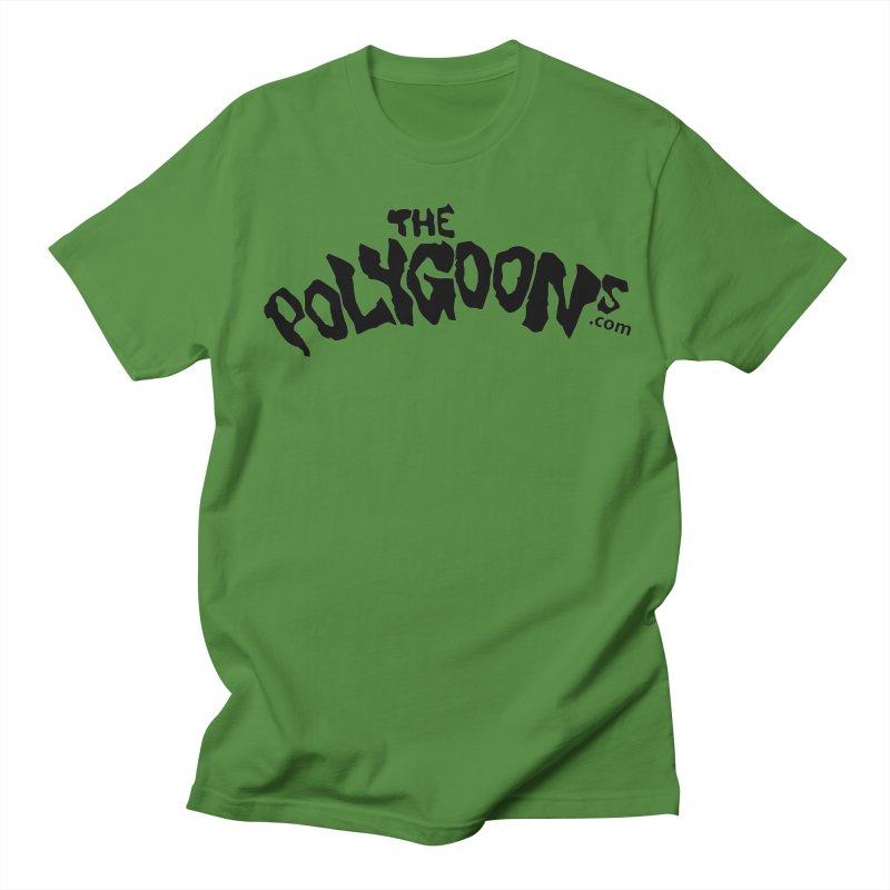 The Polygoons Logo Women's Regular Unisex T-Shirt by The Polygoons' Shop