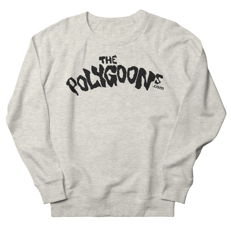 The Polygoons Logo Men's French Terry Sweatshirt by The Polygoons' Shop