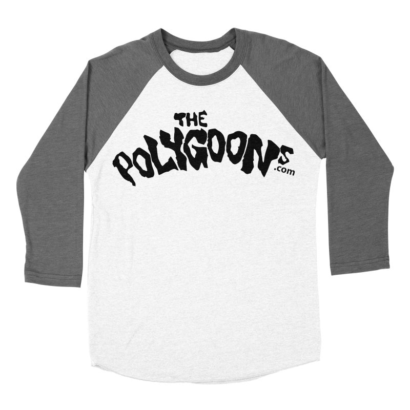 The Polygoons Logo Women's Baseball Triblend Longsleeve T-Shirt by The Polygoons' Shop