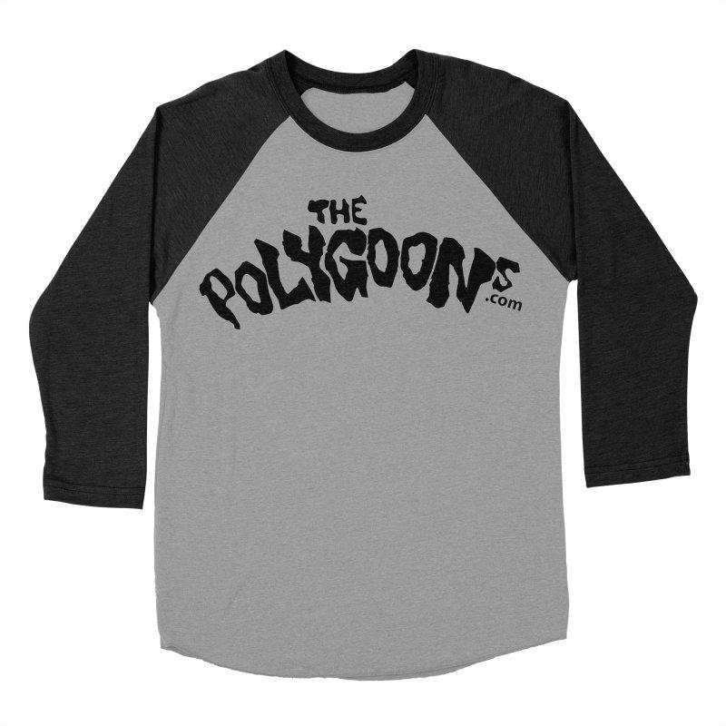 The Polygoons Logo Men's Baseball Triblend Longsleeve T-Shirt by The Polygoons' Shop