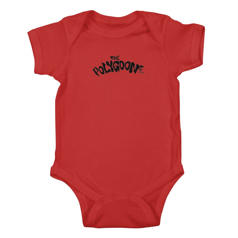 The Polygoons Logo Kids Baby Bodysuit by The Polygoons' Shop