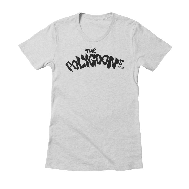 The Polygoons Logo Women's T-Shirt by The Polygoons' Shop