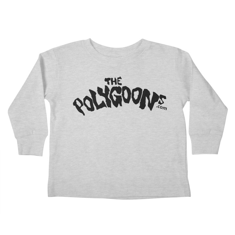 The Polygoons Logo Kids Toddler Longsleeve T-Shirt by The Polygoons' Shop