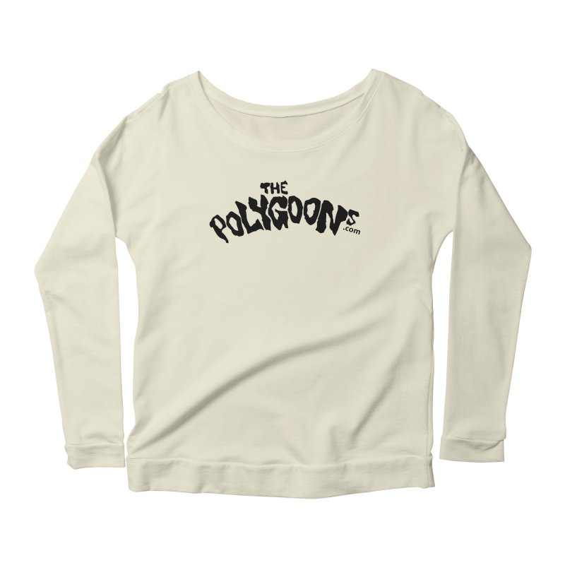 The Polygoons Logo Women's Scoop Neck Longsleeve T-Shirt by The Polygoons' Shop