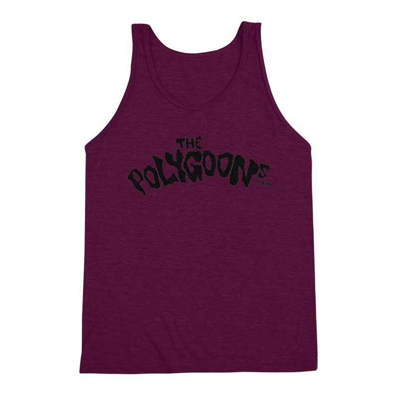 The Polygoons Logo Men's Triblend Tank by The Polygoons' Shop