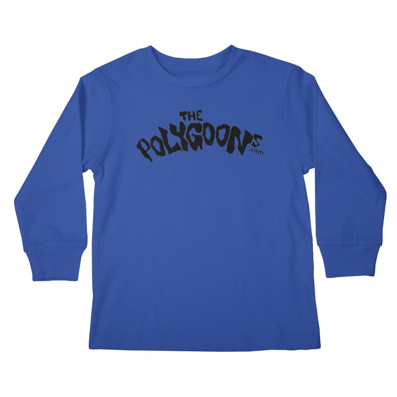 The Polygoons Logo Kids Longsleeve T-Shirt by The Polygoons' Shop