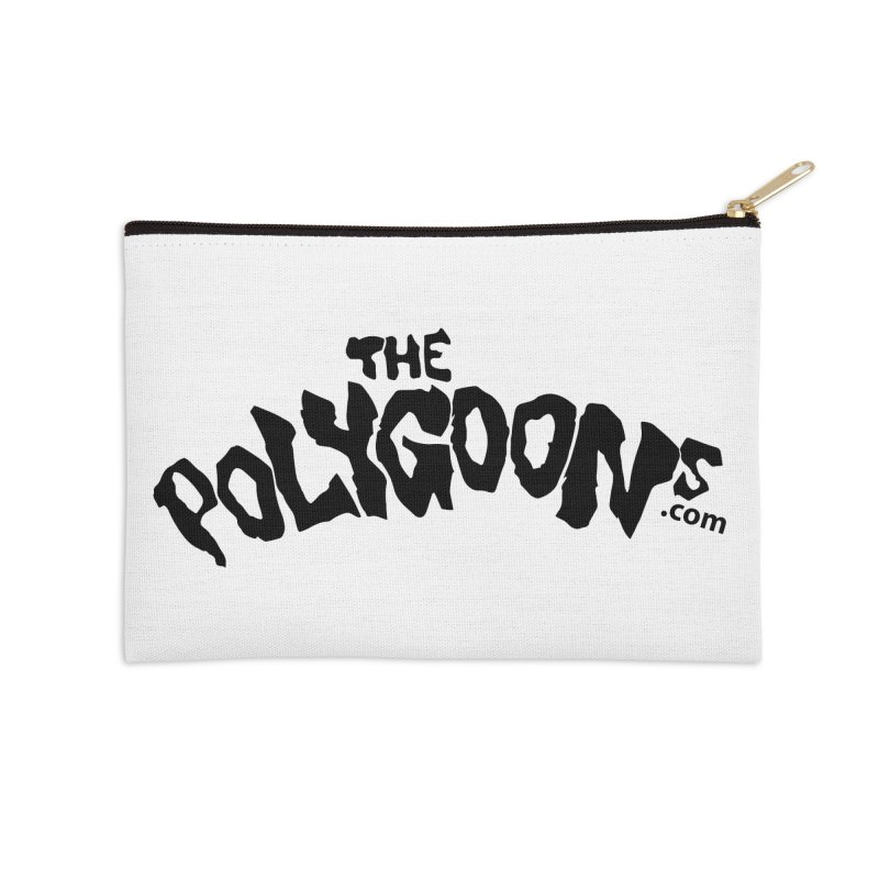 The Polygoons Logo Accessories Zip Pouch by The Polygoons' Shop