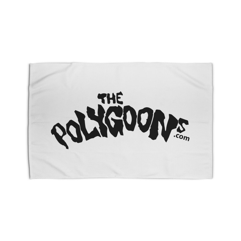 The Polygoons Logo Home Rug by The Polygoons' Shop